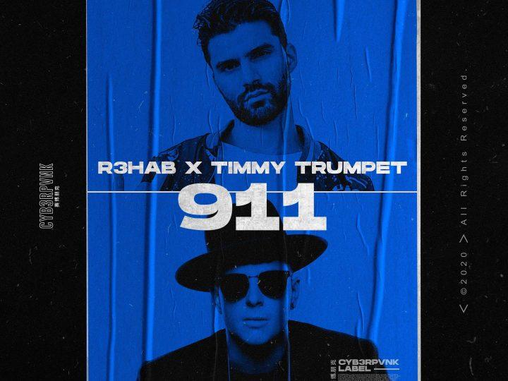 R3HAB spoločne s Timmy Trumpetom vydávajú nový singel.  Volajú 911!