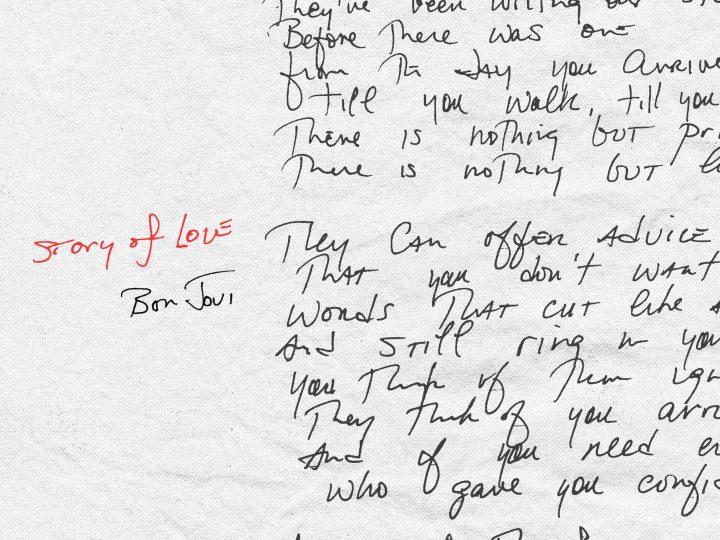 """BON JOVI VYDÁVAJÚ NOVÝ SINGEL A VIDEOKLIP """"STORY OF LOVE"""""""